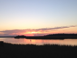 skidaway sunset