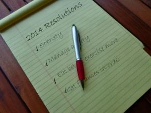 resolutions checklist