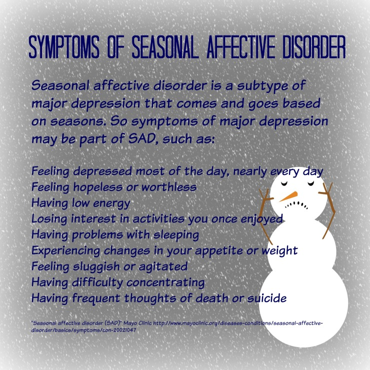 Seasonal Affective Disorder Infographic